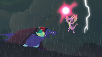 Scales seizes power from Dragon Lord S8E16