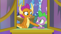 """Smolder """"it must be hard growing up"""" S8E24"""