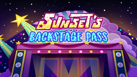 Sunset's Backstage Pass title card EGSBP.png