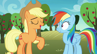 "Applejack ""they'd be plumb tickled"" S8E5"