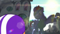 Bow Hothoof appears over Scootaloo S7E7