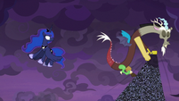 Discord puts cloud beyond the fourth wall S9E17