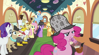 Pinkie with pipe S2E24