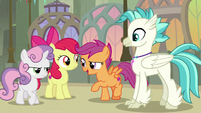 """Scootaloo """"let's add some positives"""" S8E6"""