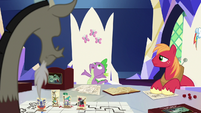 """Spike """"the whole game coming to life"""" S6E17"""