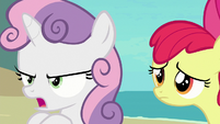 Sweetie Belle -made him give up on the world!- S8E6