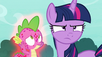 Twilight Sparkle looking determined S8E11
