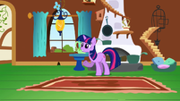 Twilight trying to reason with Fluttershy S2E21