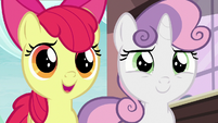 "Apple Bloom ""we're comin' with ya!"" S9E12"
