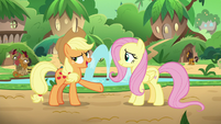 "Applejack ""a problem the Kirin never have"" S8E23"
