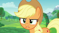 """Applejack """"he'd pull you from our charity festival"""" S5E24"""