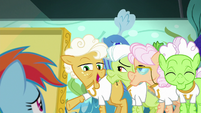 "Goldie ""why didn't you say so sooner?"" S8E5"