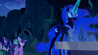Nightmare Moon --And now you will give this spell to me!-- S5E26