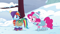 """Pinkie suggests a """"welcome above ground"""" party S5E5"""