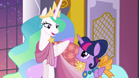"""Princess Celestia """"you have nothing to apologize for"""" S5E7"""