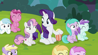 """Rarity """"it's funny because it's true!"""" S7E6"""