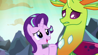 """Starlight Glimmer """"Thorax and I can talk about it"""" S7E1"""