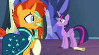 Sunburst -doesn't mean we have to be foals- S7E24