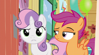 Sweetie Belle -you can't come in then either- S5E4