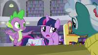 "Twilight ""need to speak with Dusty Pages"" S9E5"