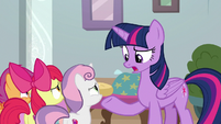 "Twilight Sparkle ""that's just cruel!"" S8E12"
