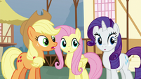 Applejack -what's the first clue-- S5E19