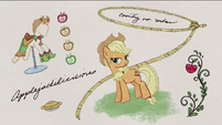 Applejack with Gala dress and lasso RPBB2