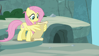 Fluttershy checking her to-do list S9E18
