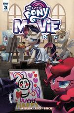 MLP The Movie Prequel issue 3 cover RI