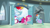 """Pinkie """"barely started your congratulation party"""" S6E7"""