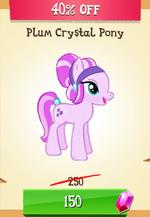 Plum Crystal Pony MLP Gameloft.png