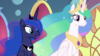 """Princess Luna """"there is more to it"""" S9E1"""