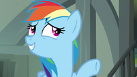 """Rainbow Dash """"I'd be worried about her, too"""" S4E04"""