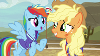 """Rainbow Dash """"just as humiliating now"""" S6E18"""