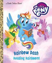 Rainbow Dash Reading Rainboom! cover.jpg
