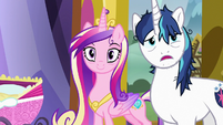 """Shining Armor """"you getting all this, Twily?"""" S7E3"""