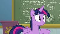 Twilight Sparkle hearing Rainbow snoring S6E24