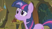 Twilight asks about Zecora's brew S1E09