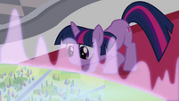 Twilight looking at the map S3E01