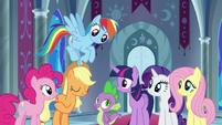 """Applejack """"Equestria's best interests"""" S9E1"""