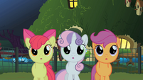 CMC see the Stare in action S01E17