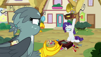 """Gabby """"is all this stuff for Spike again?"""" S9E19"""