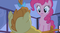 Pinkie Pie well I'll be S2E13