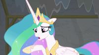 "Princess Celestia ""why didn't you tell me?"" S8E7"