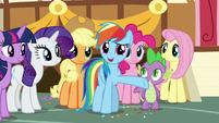 """Rainbow Dash """"more than just a club"""" S9E12"""