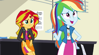 "Rainbow Dash ""who cares why it happens?"" EG2"