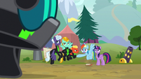 Rainbow Dash -I can't let her do this!- S8E20