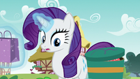 Rarity notices Spike feeling very down S9E19