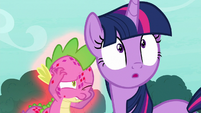 """Spike """"long enough to dive out of the way"""" S8E11"""