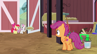"Sweetie Belle ""maybe we should wait here"" S9E23"